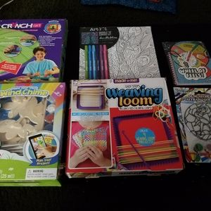 Girls arts and crafts bundle